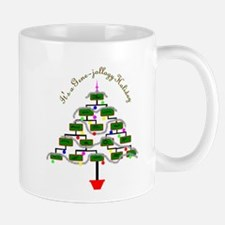 Genealogy Christmas Tree Mugs