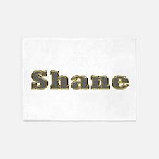 Shane Gold Diamond Bling 5'x7' Area Rug