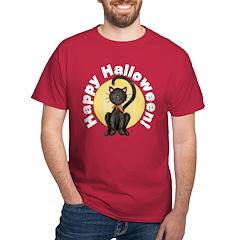 Black Cat Full Moon T-Shirt