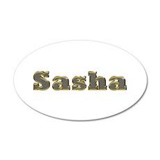 Sasha Gold Diamond Bling Wall Decal