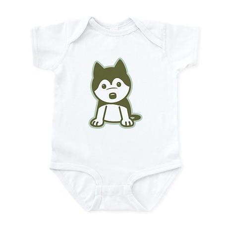 Husky Puppy Infant Bodysuit