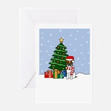 Boxer Season's Best Greeting Cards (Pk of 20)