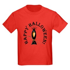 Halloween Black Crow T