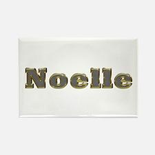 Noelle Gold Diamond Bling Rectangle Magnet