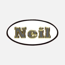 Neil Gold Diamond Bling Patch