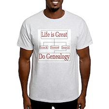 Do Genealogy Char T-Shirt
