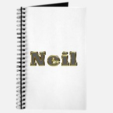 Neil Gold Diamond Bling Journal