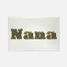 Nana Gold Diamond Bling Rectangle Magnet 100 Pack