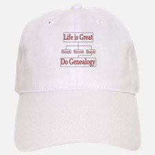 Do Genealogy Chart Baseball Baseball Cap