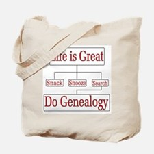 Do Genealogy Chart Tote Bag
