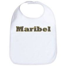 Maribel Gold Diamond Bling Bib
