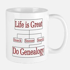 Do Genealogy Chart Mugs