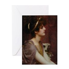 Classical Beauty Greeting Card
