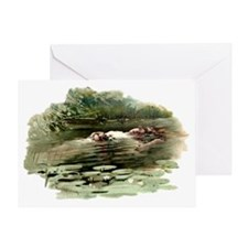 Copping Ophelia Greeting Card