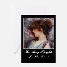Far Away Thoughts Greeting Card