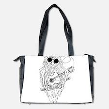 Music owl Diaper Bag