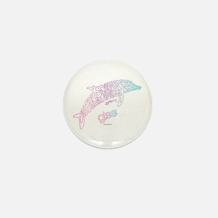 Glee Dolphin Mini Button