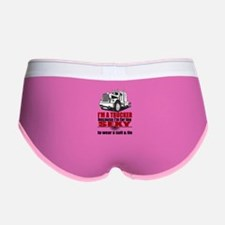 too sexy for suit & Women's Boy Brief