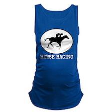 Horse Racing Maternity Tank Top
