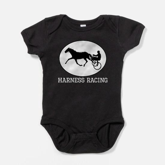 Harness Racing Baby Bodysuit