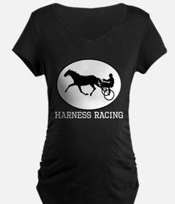 Harness Racing Maternity T-Shirt