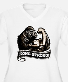 KONG STRONG Plus Size T-Shirt