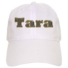 Tara Gold Diamond Bling Baseball Cap