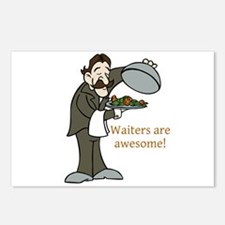 Waiters are Awesome Postcards (Package of 8)