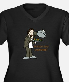 Waiters are Awesome Plus Size T-Shirt