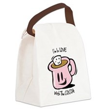 Im in love Canvas Lunch Bag