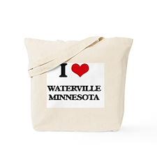 I love Waterville Minnesota Tote Bag