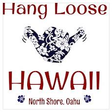 Hang Loose Hawaii Poster