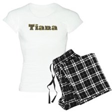 Tiana Gold Diamond Bling Pajamas