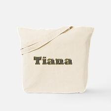 Tiana Gold Diamond Bling Tote Bag