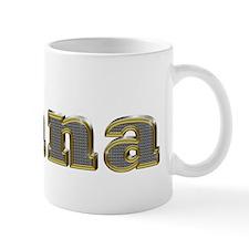 Tiana Gold Diamond Bling Mugs