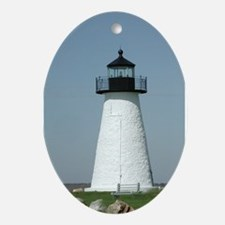 Ned's Point Lighthouse Oval Ornament