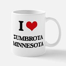 I love Zumbrota Minnesota Mugs