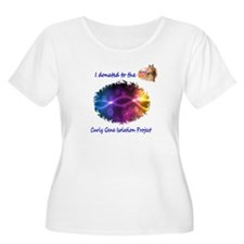 Gene Isolation Donation Plus Size T-Shirt