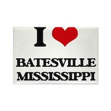 I love Batesville Mississippi Magnets