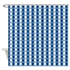 unc 3.png Shower Curtain