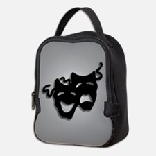 Comedy and Tragedy Theater Desi Neoprene Lunch Bag