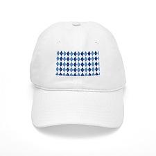 Blue Arglye Baseball Baseball Cap