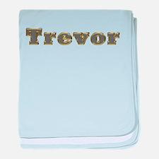 Trevor Gold Diamond Bling baby blanket