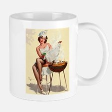 Classic Elvgren 1950s Vintage Pin Up Girl-BBQ Mugs