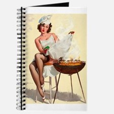 Classic Elvgren 1950s Vintage Pin Up Girl-BBQ Jour