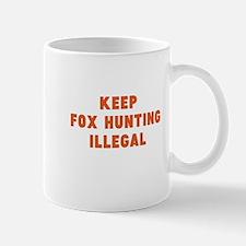 fox hunting Mugs