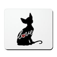 Sphynx Love Mousepad