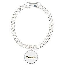 Tessa Gold Diamond Bling Bracelet