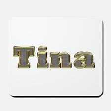 Tina Gold Diamond Bling Mousepad