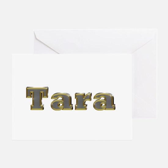 Tara Gold Diamond Bling Greeting Card
